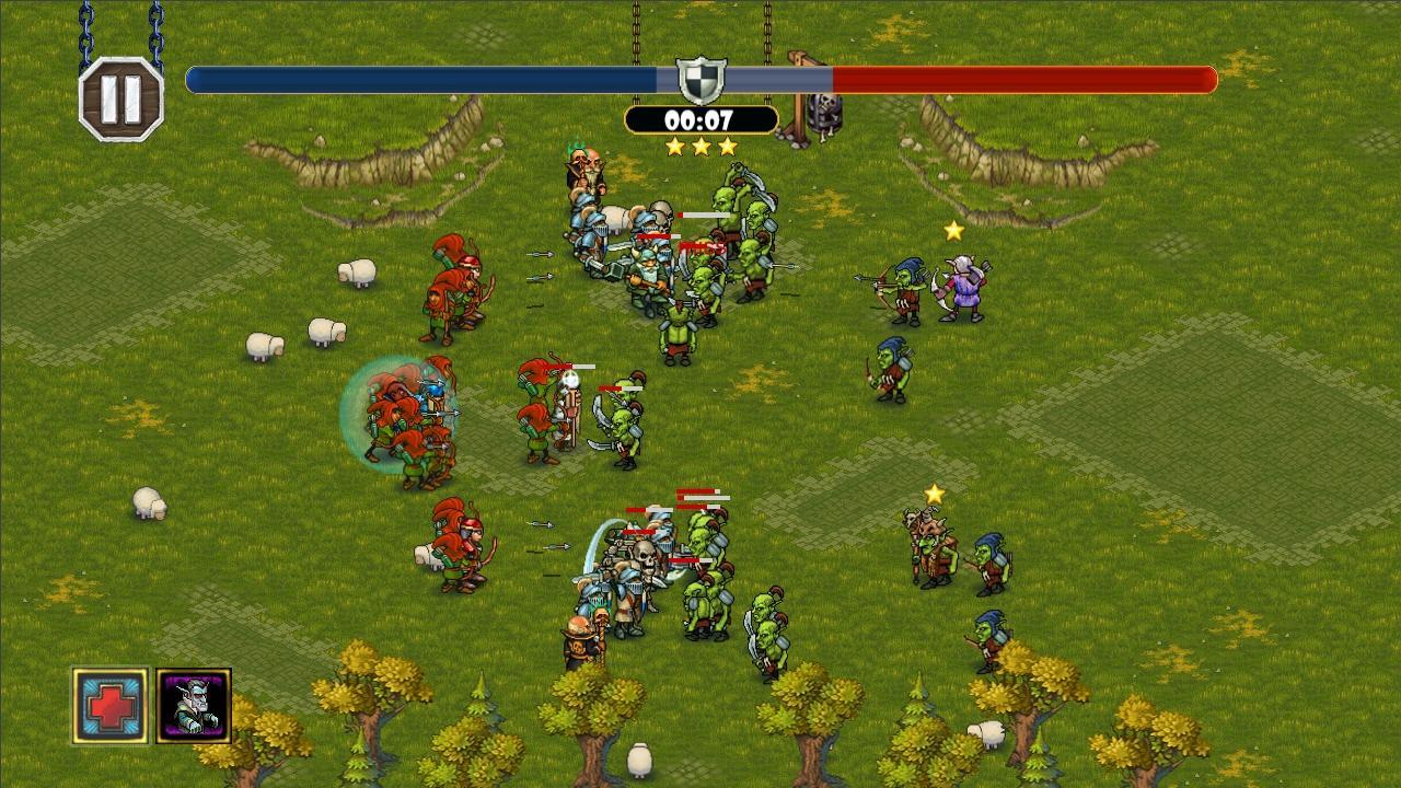 Screenshot of Royal Heroes
