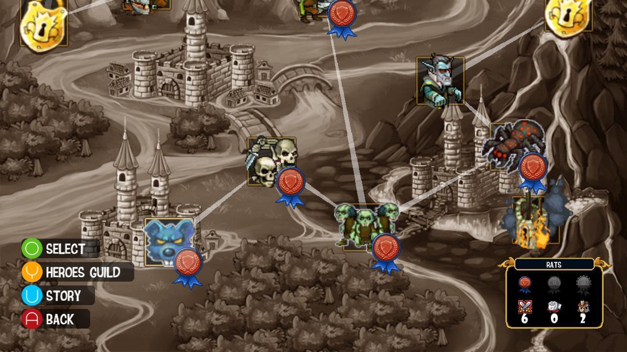 Screenshot of Royal Offense