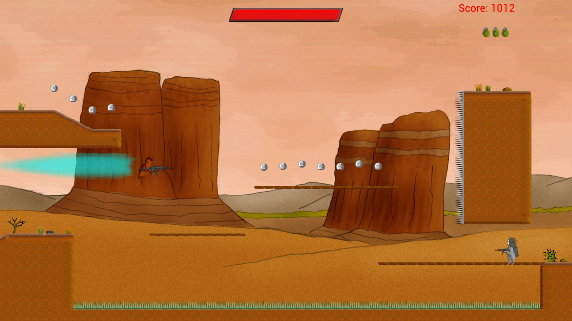 Screenshot of Hamster Hellstorm