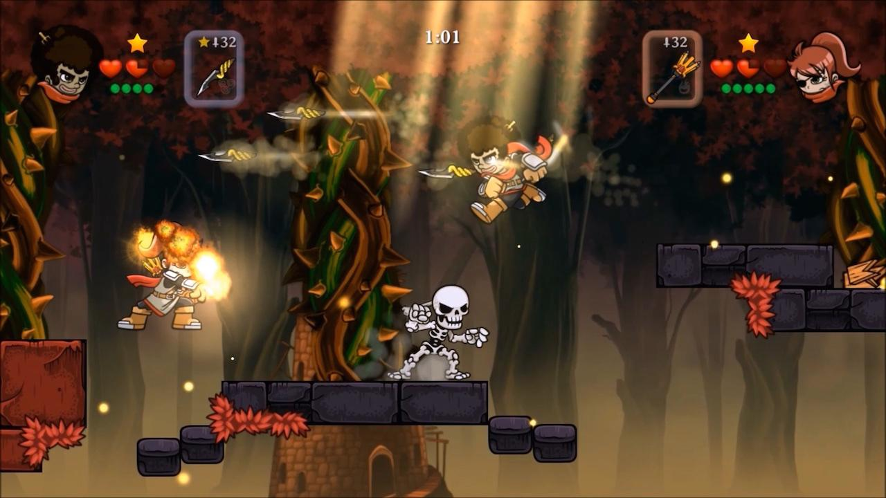 Screenshot of Magic Rampage