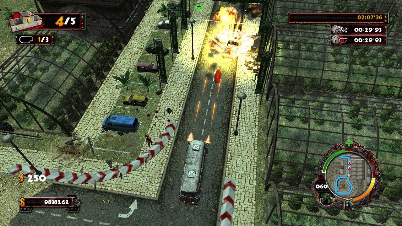 Screenshot of Zombie Driver HD