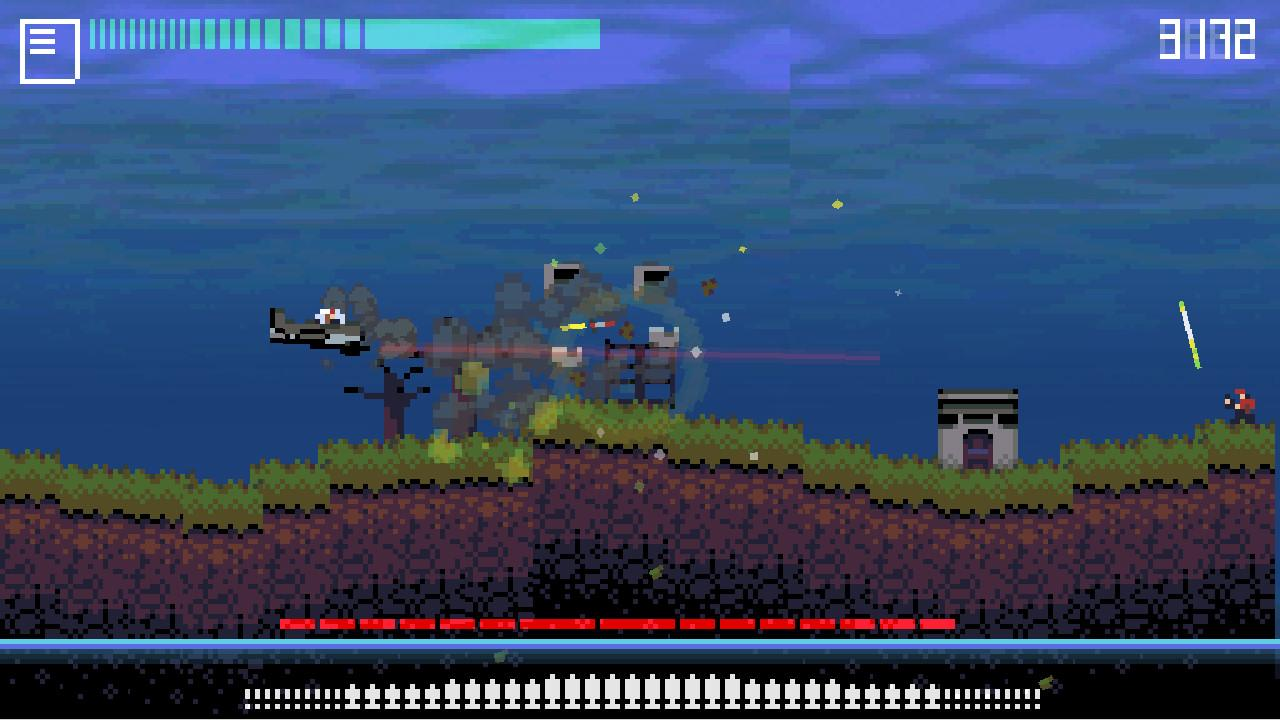 Screenshot of Rubble N Strafe