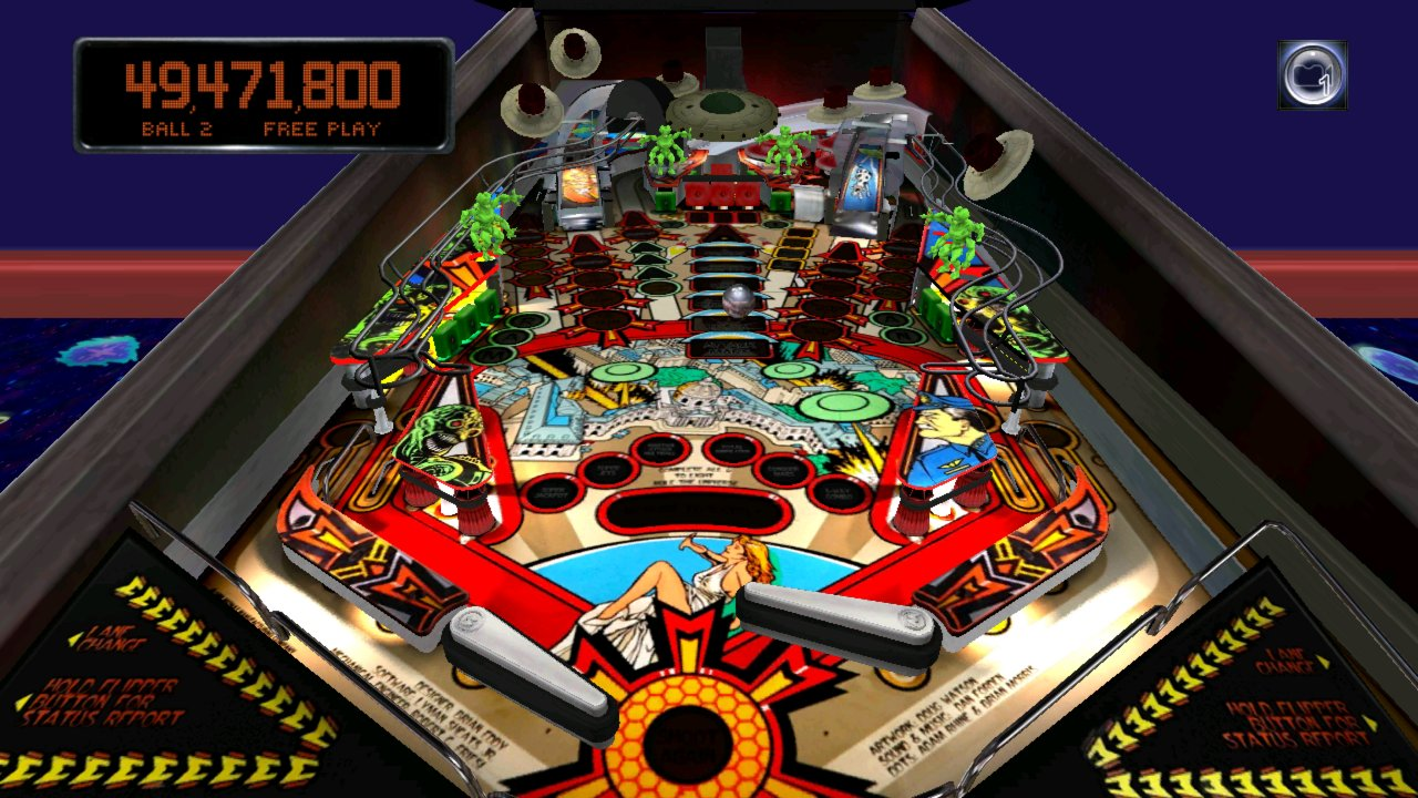 Screenshot of Pinball Arcade