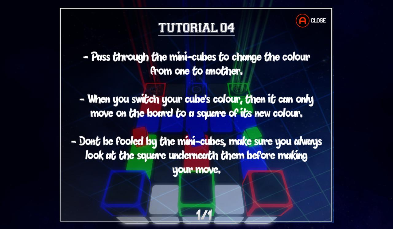 Screenshot of Fake Colours