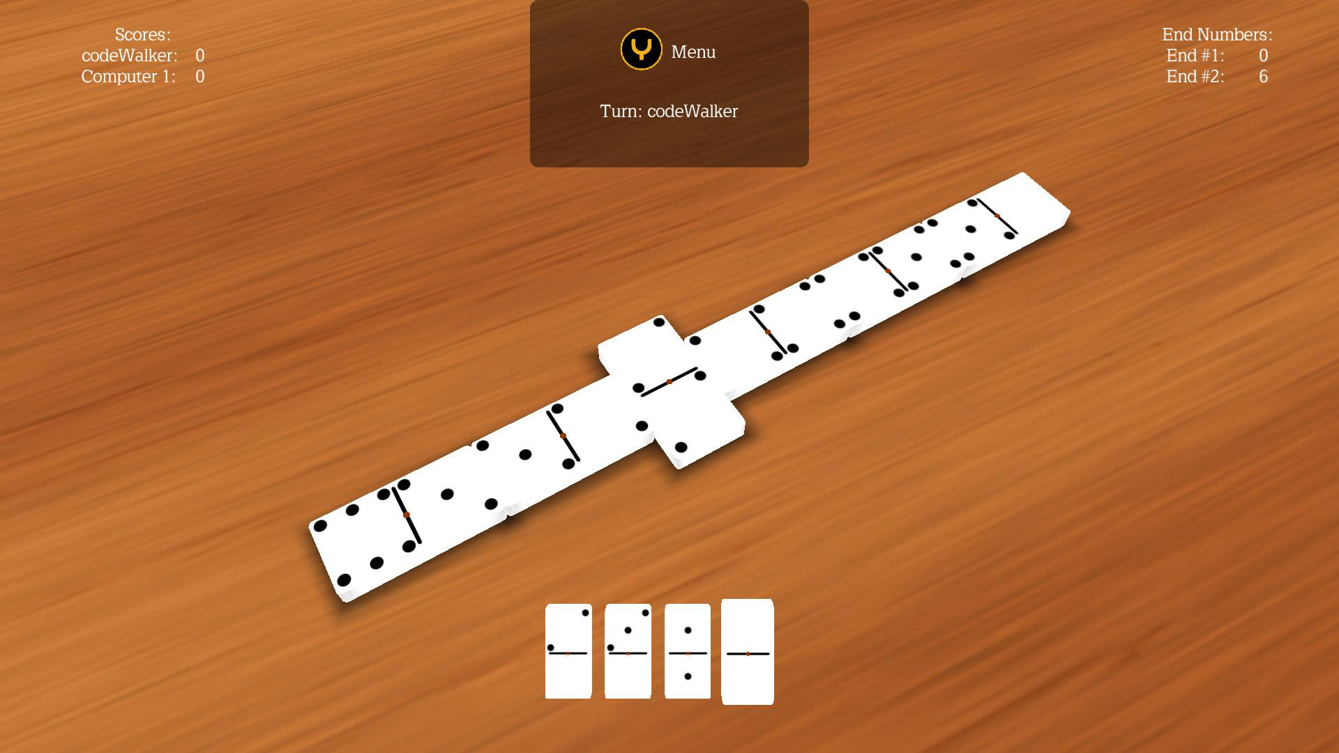 Screenshot of Multi Dominoes