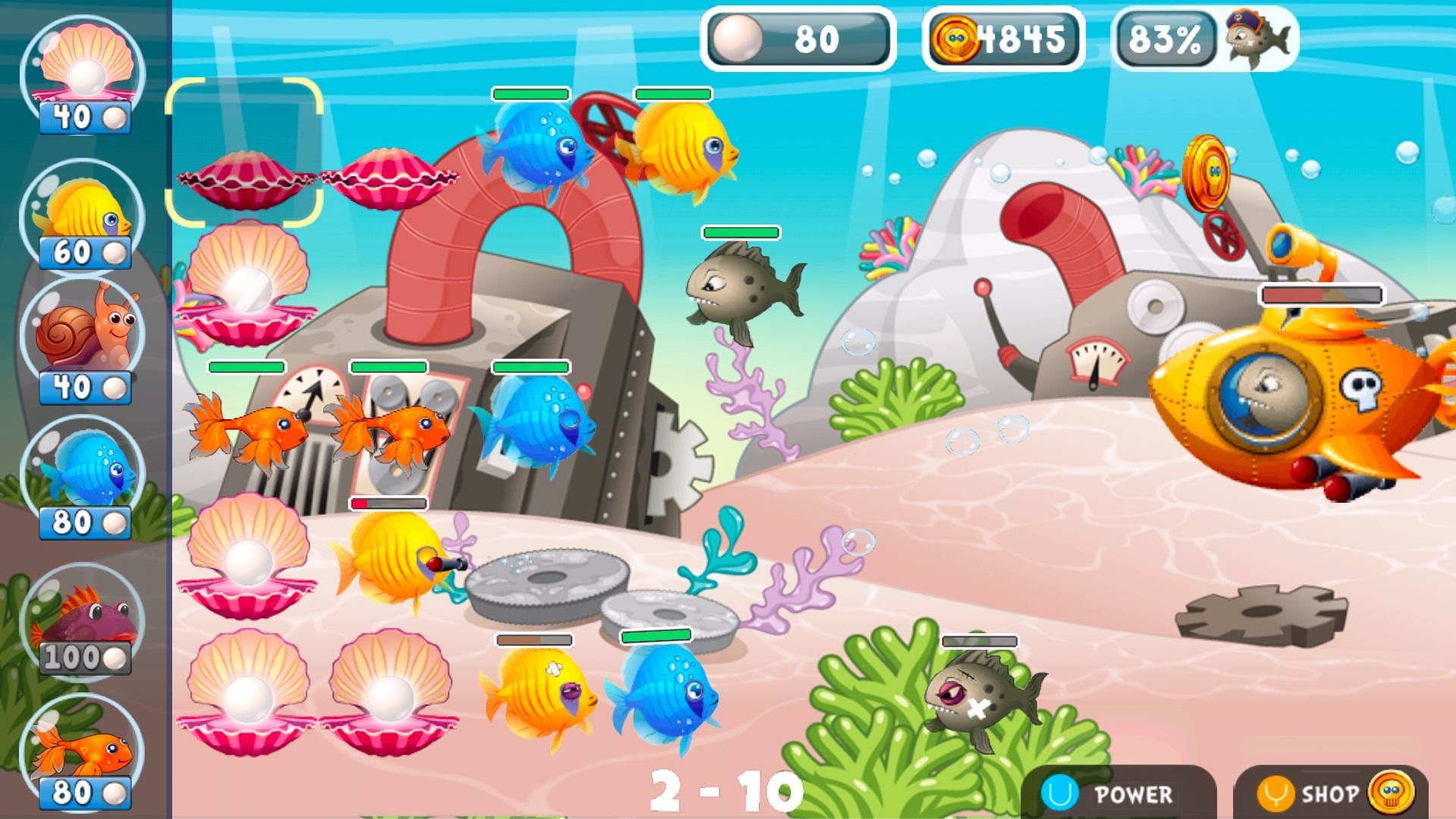 Screenshot of Fish vs Pirates
