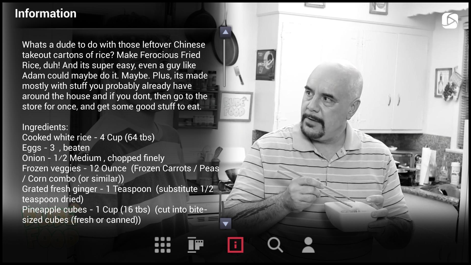 Screenshot of He TV