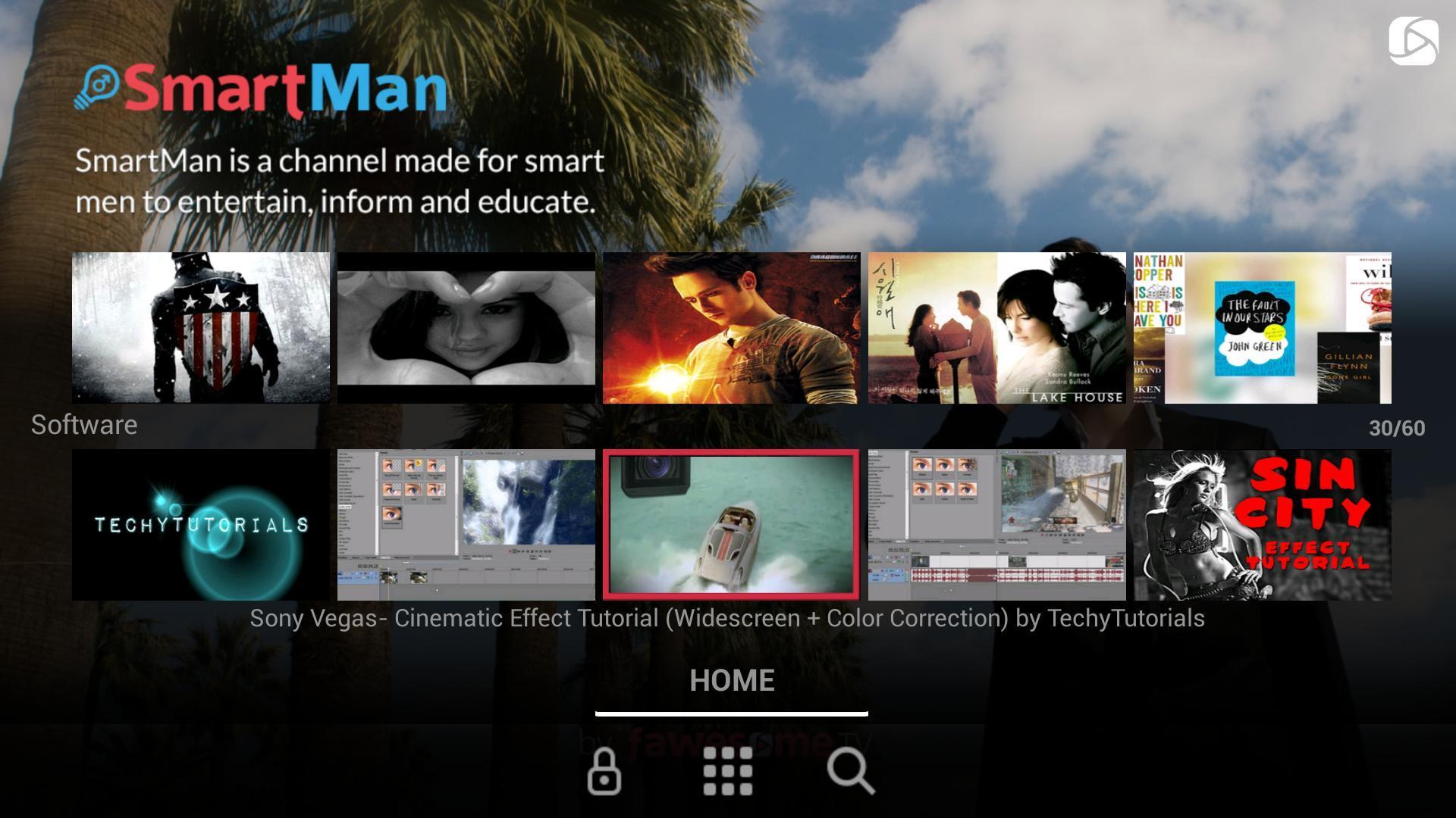 Screenshot of SmartMan