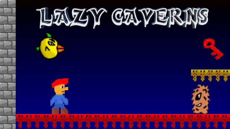 Screenshot of ../game/com.gamesa.lazycaverns.htm