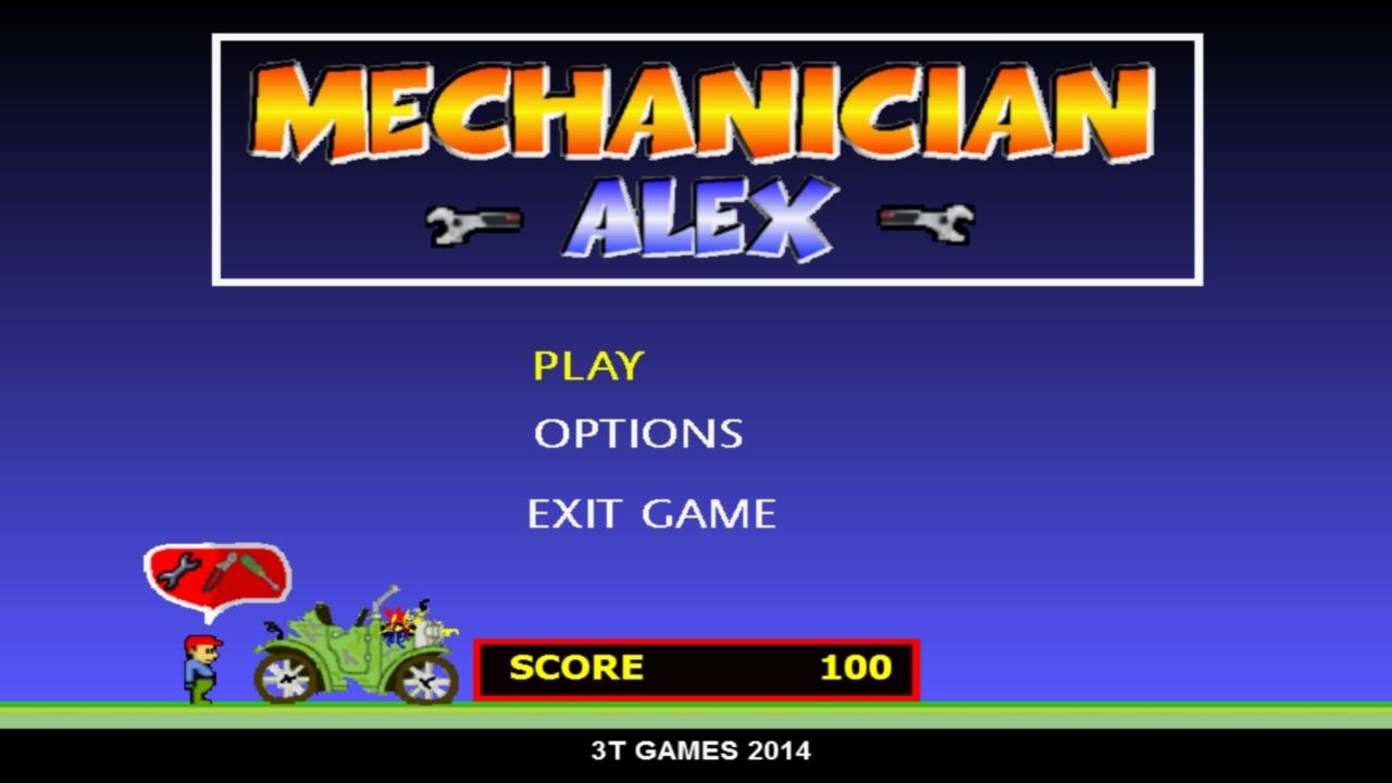 Screenshot of Mechanician Alex