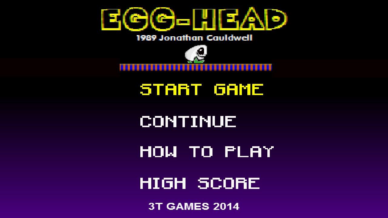 Screenshot of Egg Head