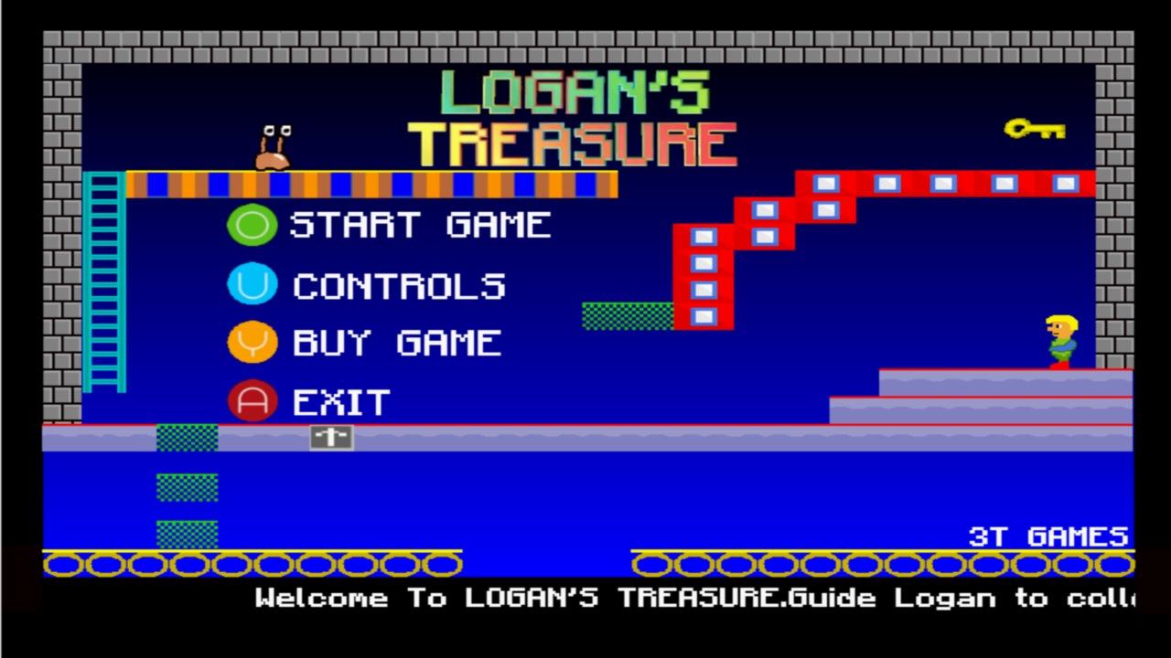 Screenshot of Logan's Treasure