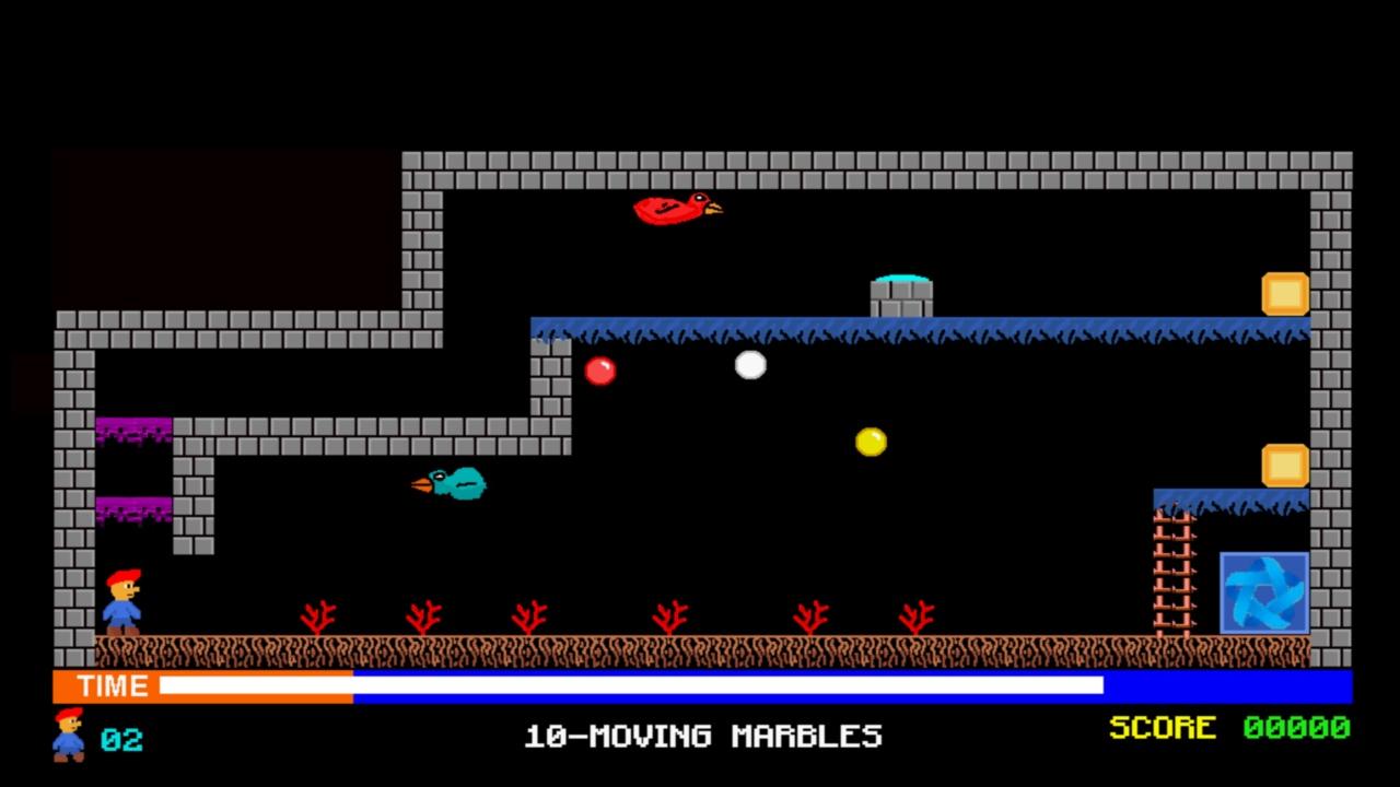 Screenshot of Lazy caverns 2