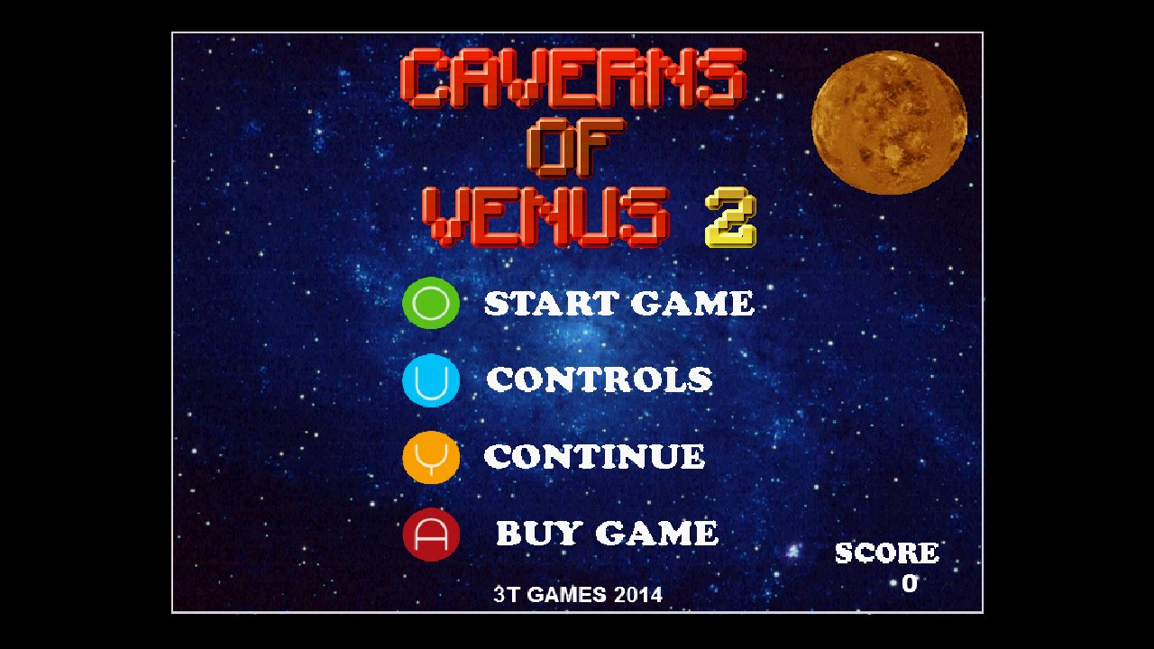 Screenshot of Caverns of Venus 2