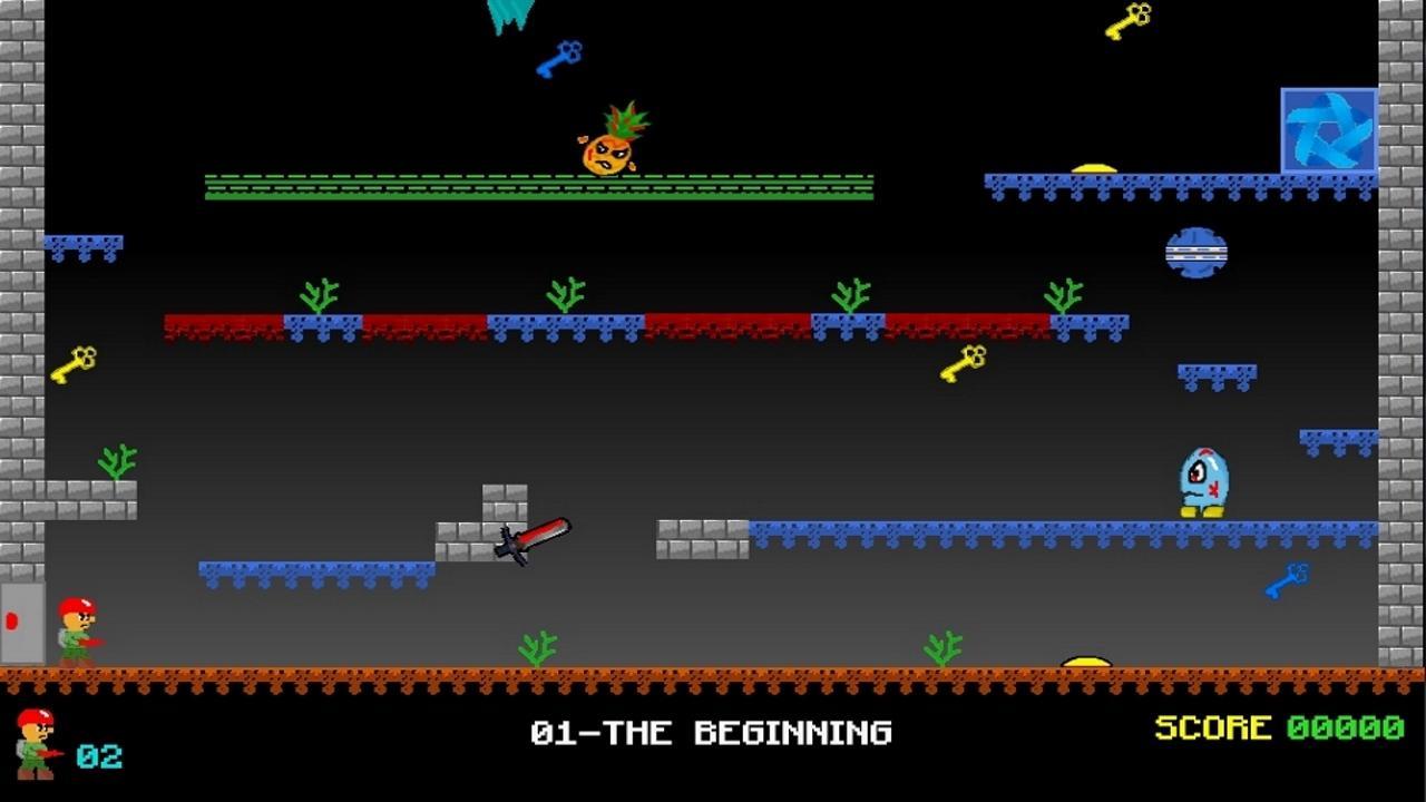 Screenshot of Lazy Caverns Attack