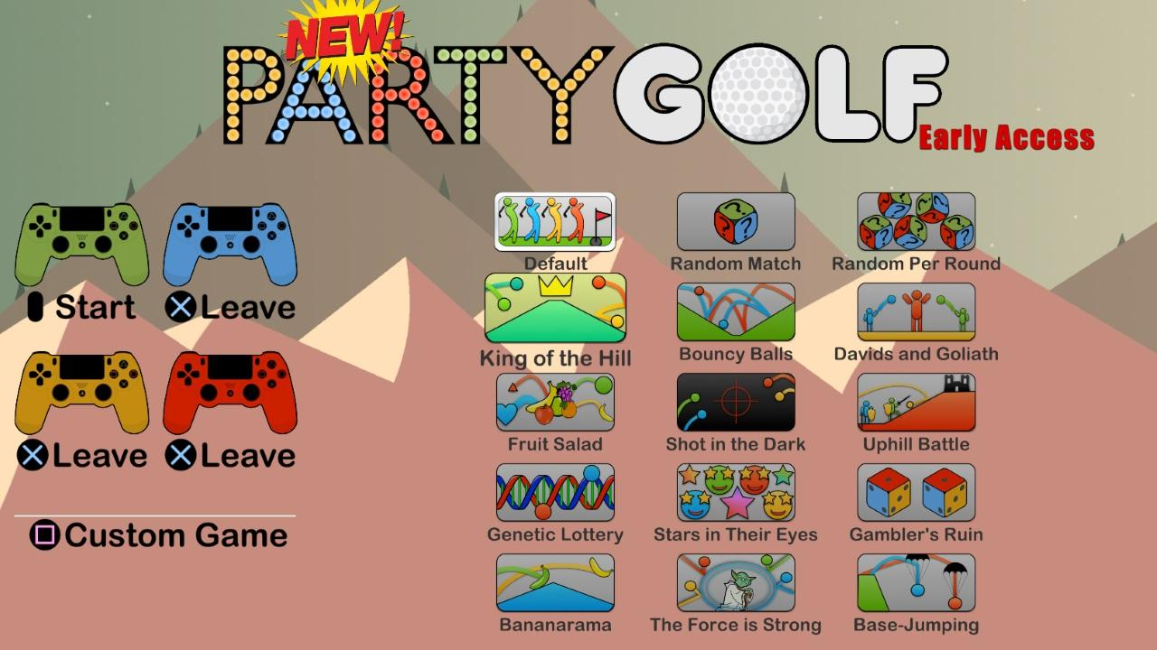 Screenshot of Party Golf