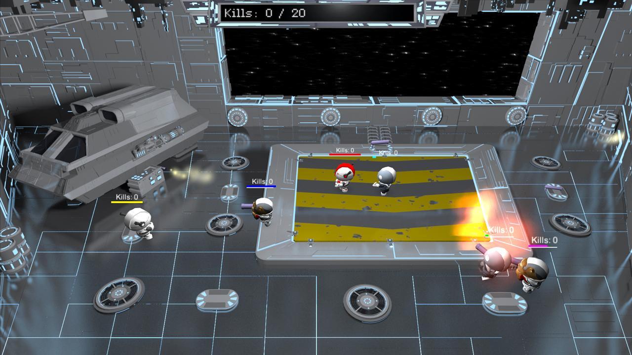 Screenshot of Brutal Arena
