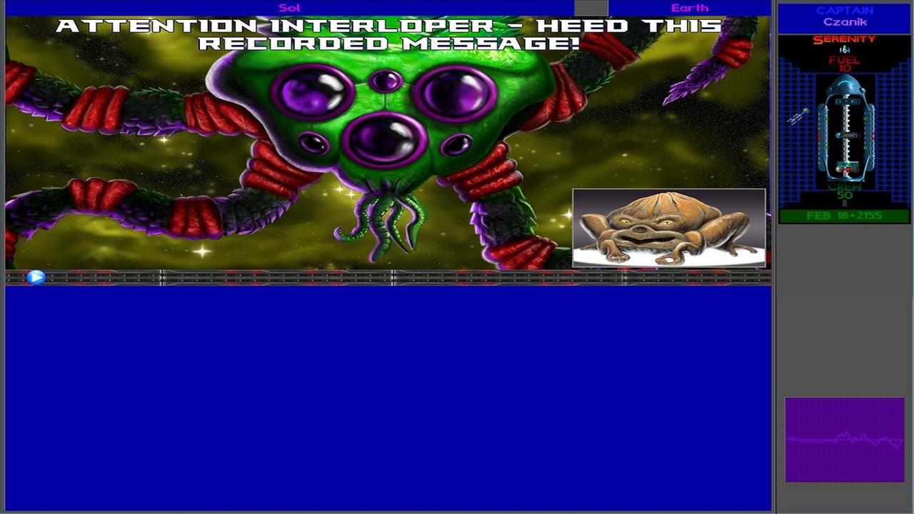 Screenshot of Ur-Quan Masters HD