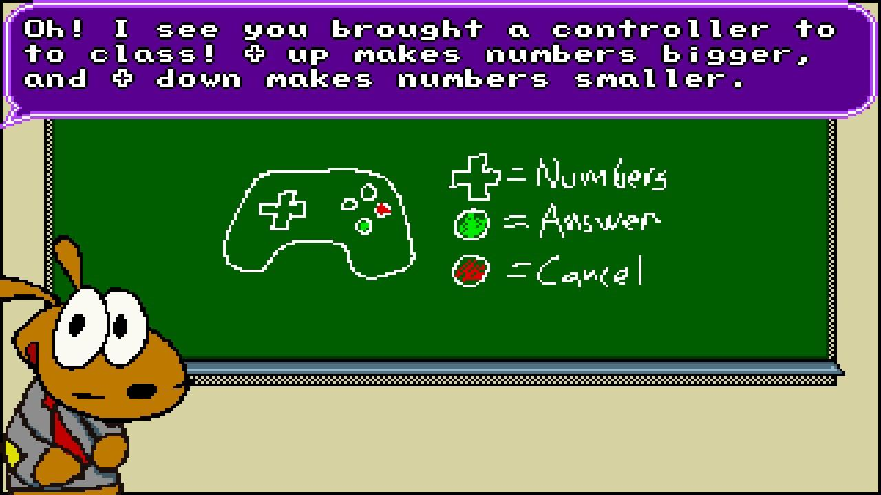 Screenshot of Mr. The Hamster's Math Class