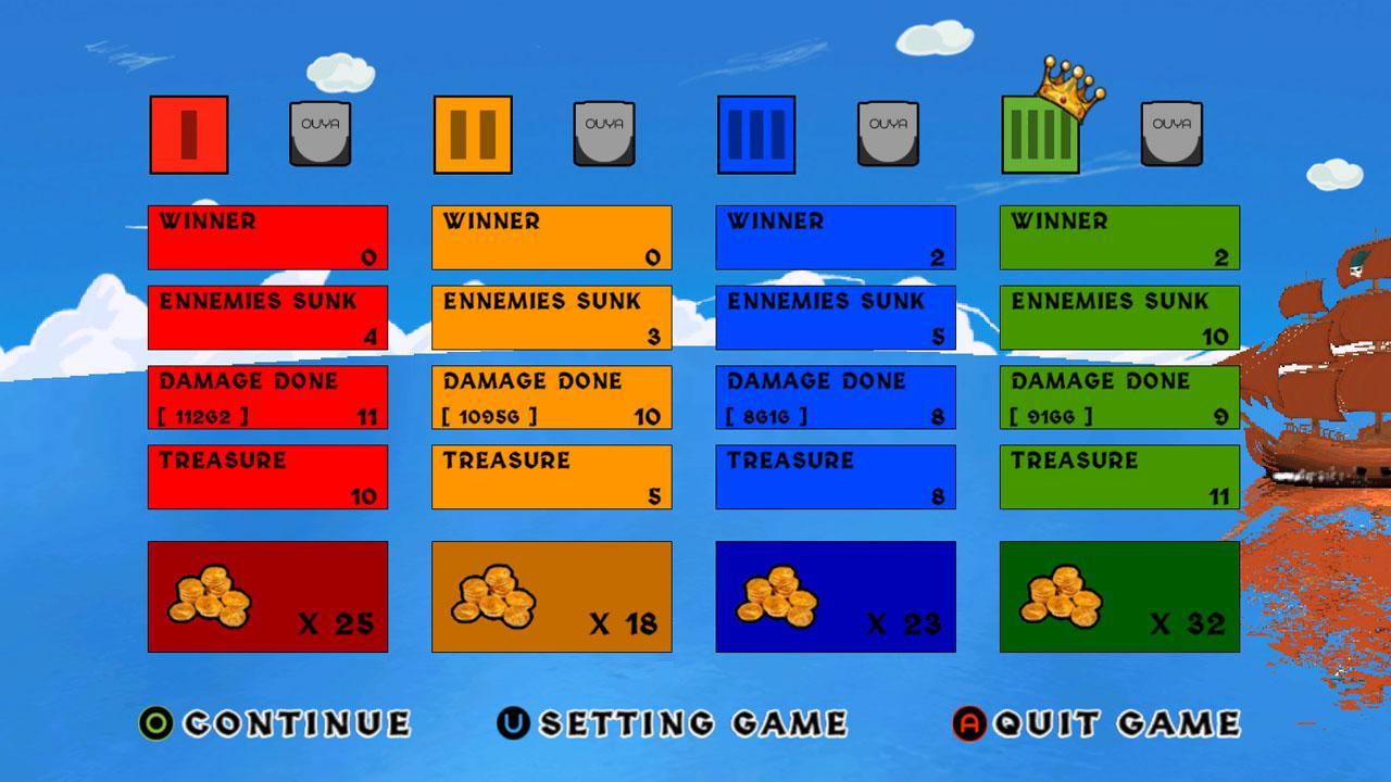 Screenshot of BattleShip Arcade