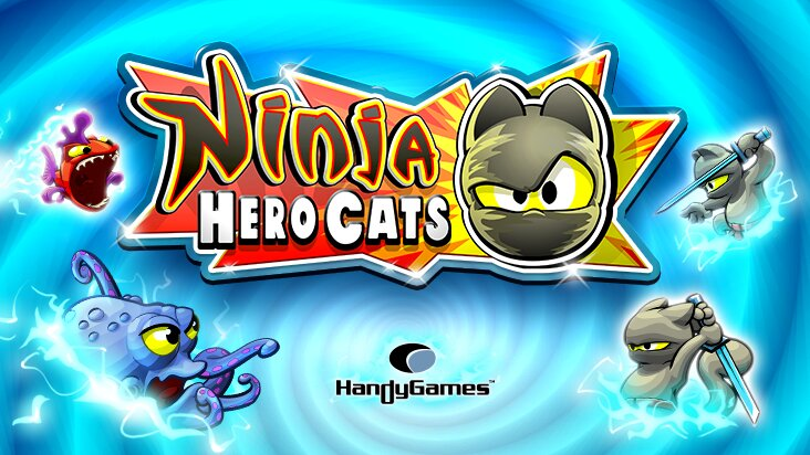 Screenshot of ../game/com.hg.ninjaherocatsfree.htm