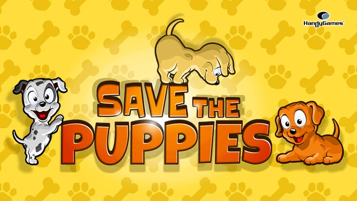 Screenshot of ../game/com.hg.savethepuppiesfree.htm