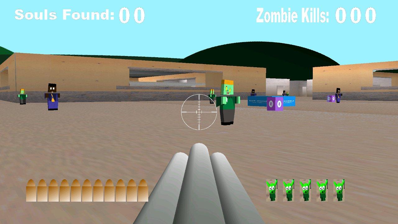 Screenshot of Alien Zombie Soul Hunter