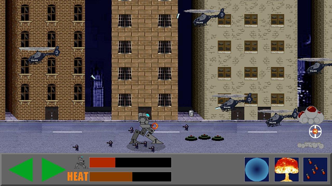 Screenshot of IronWalker