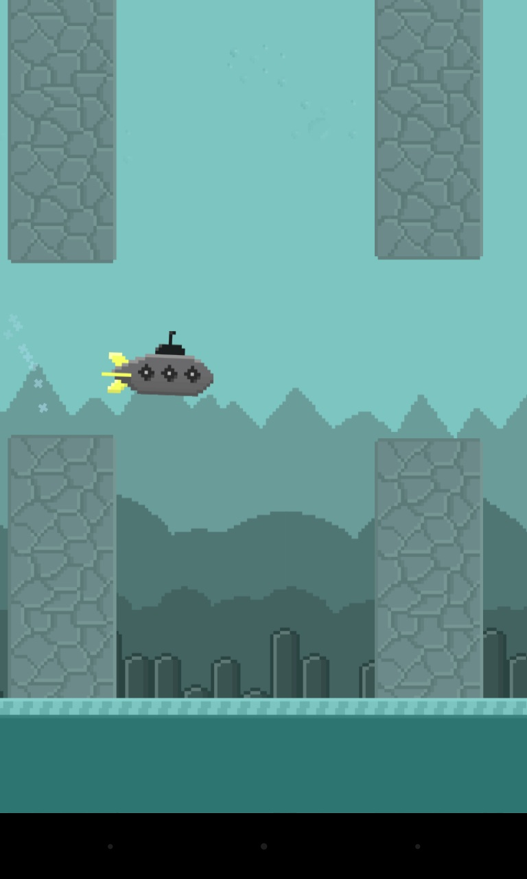 Screenshot of Jumping Submarine
