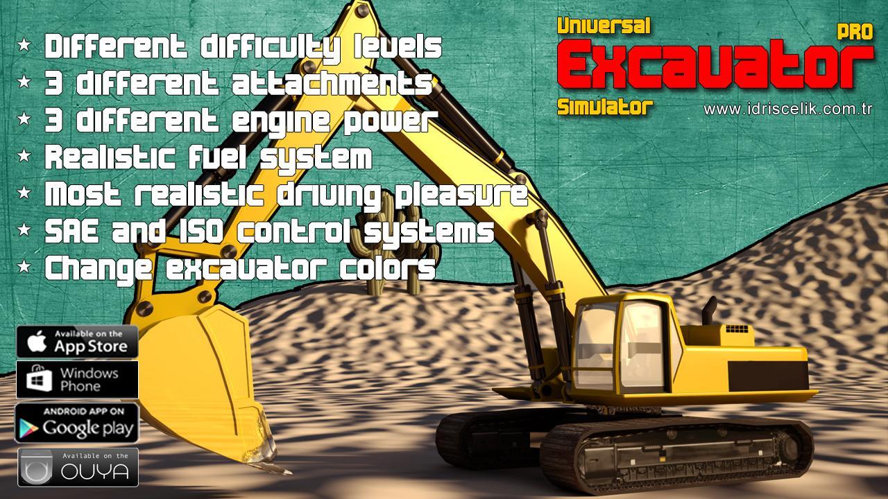 Screenshot of Excavator Simulator PRO