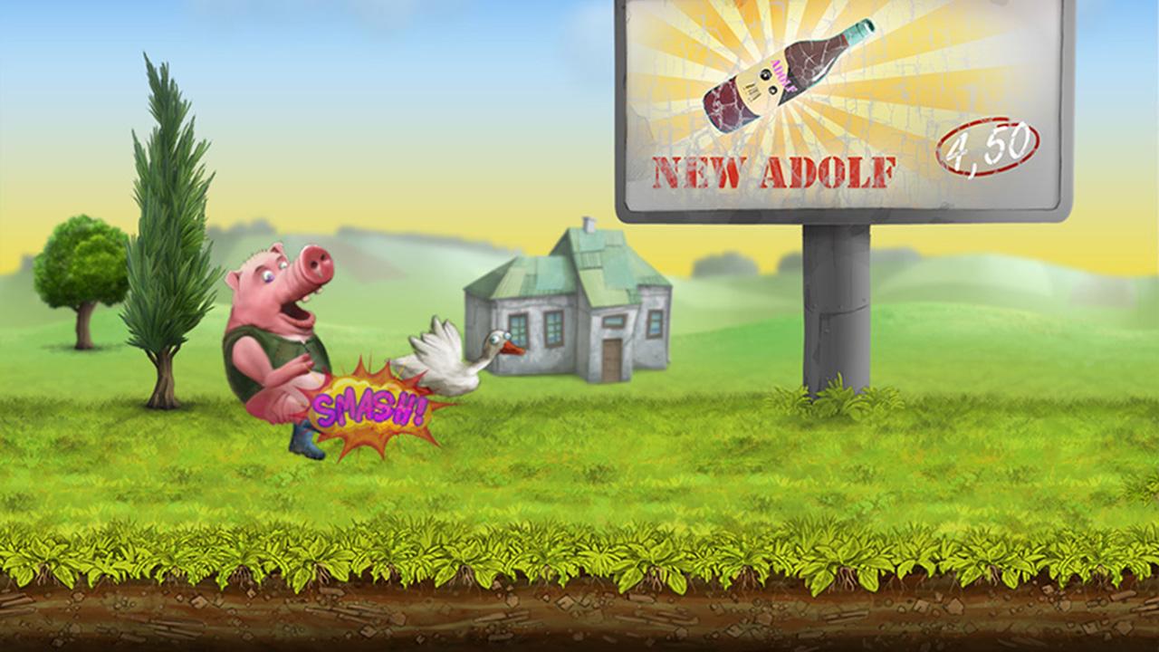 Screenshot of Johnny Adolf - The Floppy Duck
