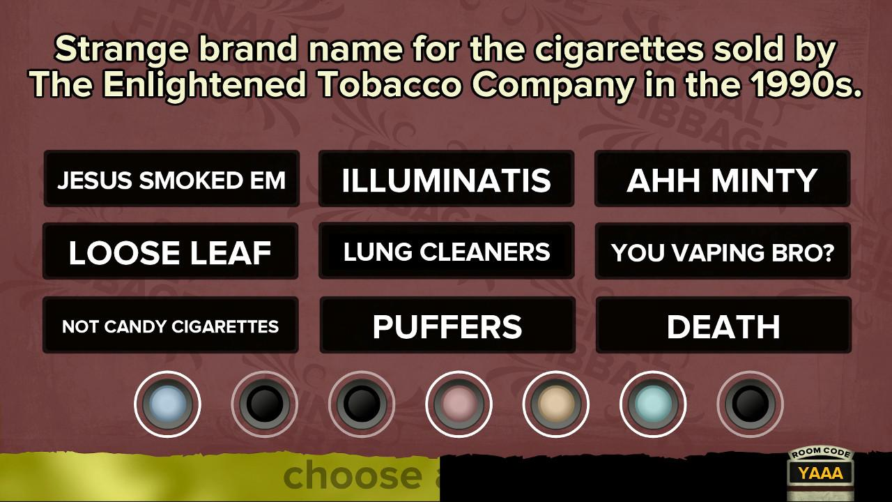 Screenshot of The Jackbox Party Pack