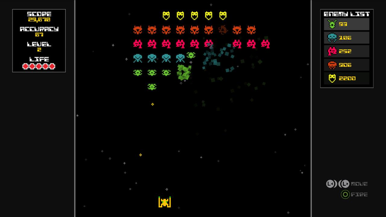 Screenshot of Galaxoid