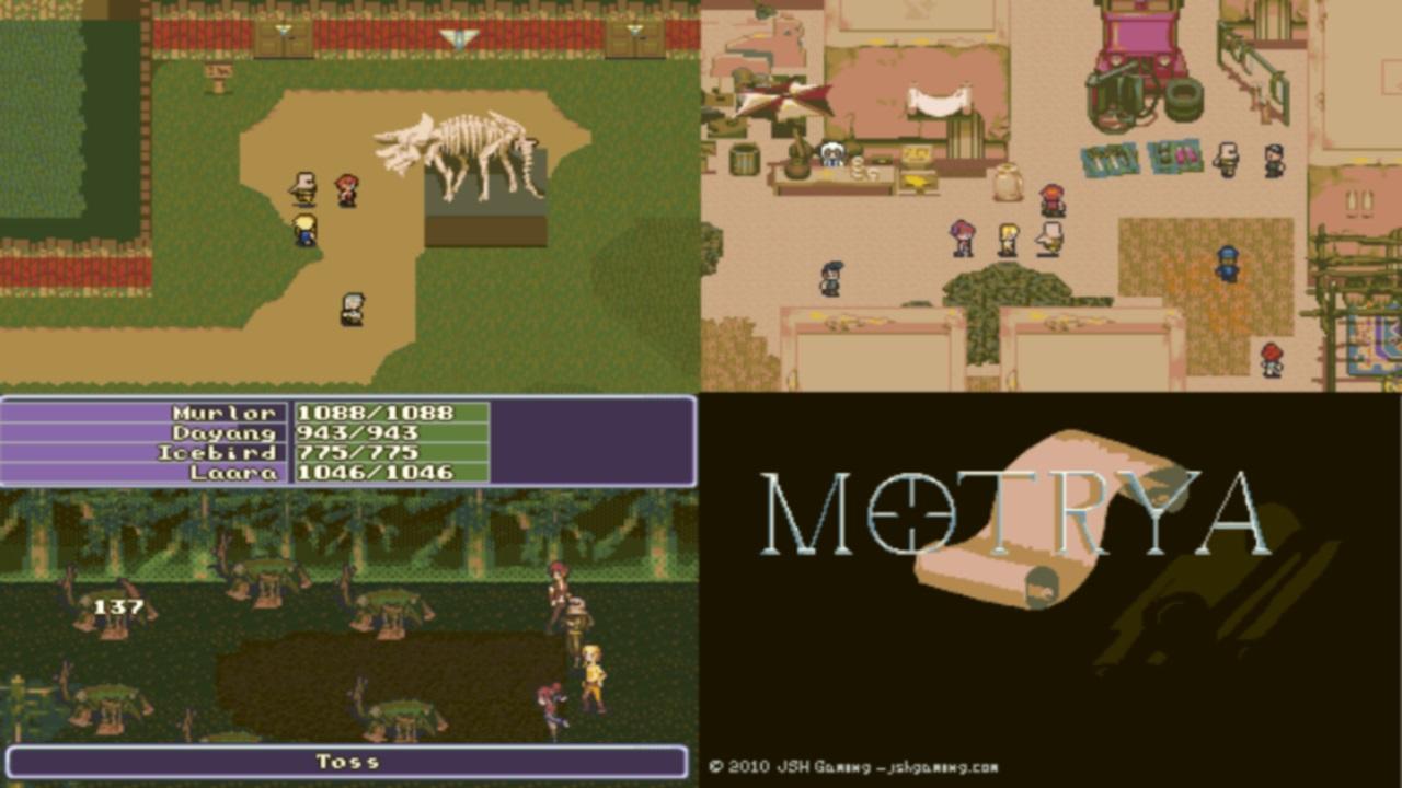 Screenshot of Motrya