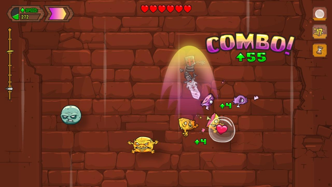 Screenshot of Knightmare Tower: OUYA Edition