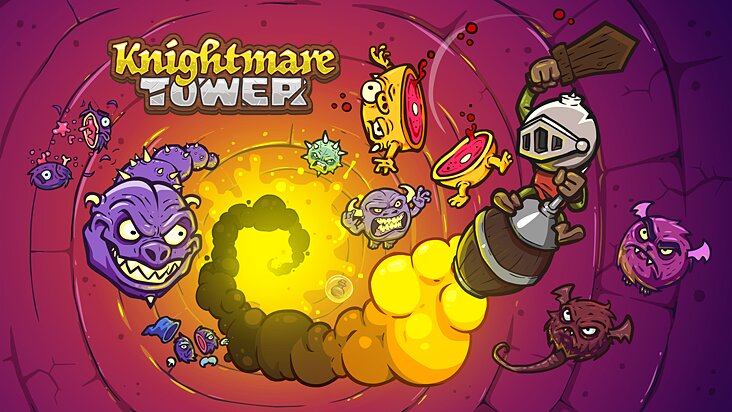 Screenshot of ../game/com.juicybeast.KnightmareTower.htm