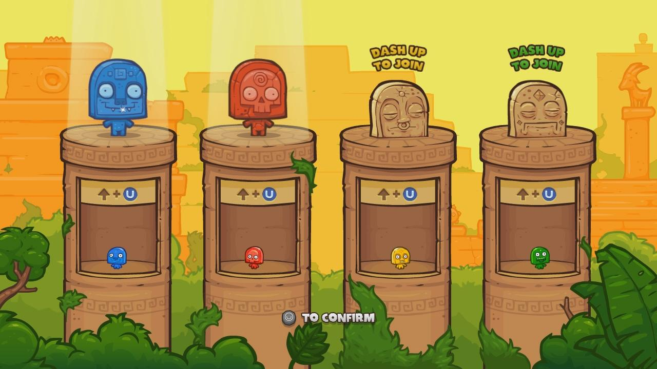 Screenshot of Toto Temple Deluxe: OUYA Edition