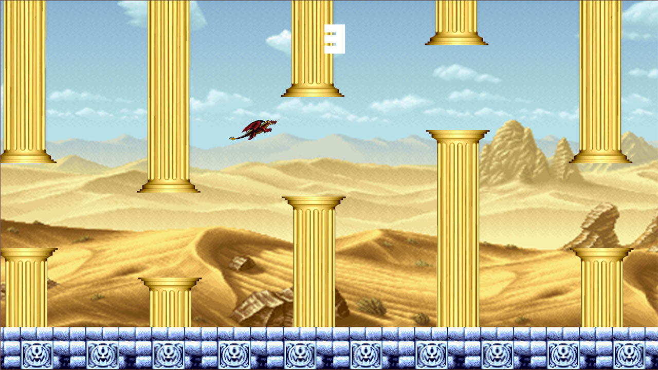Screenshot of Temple Flappy