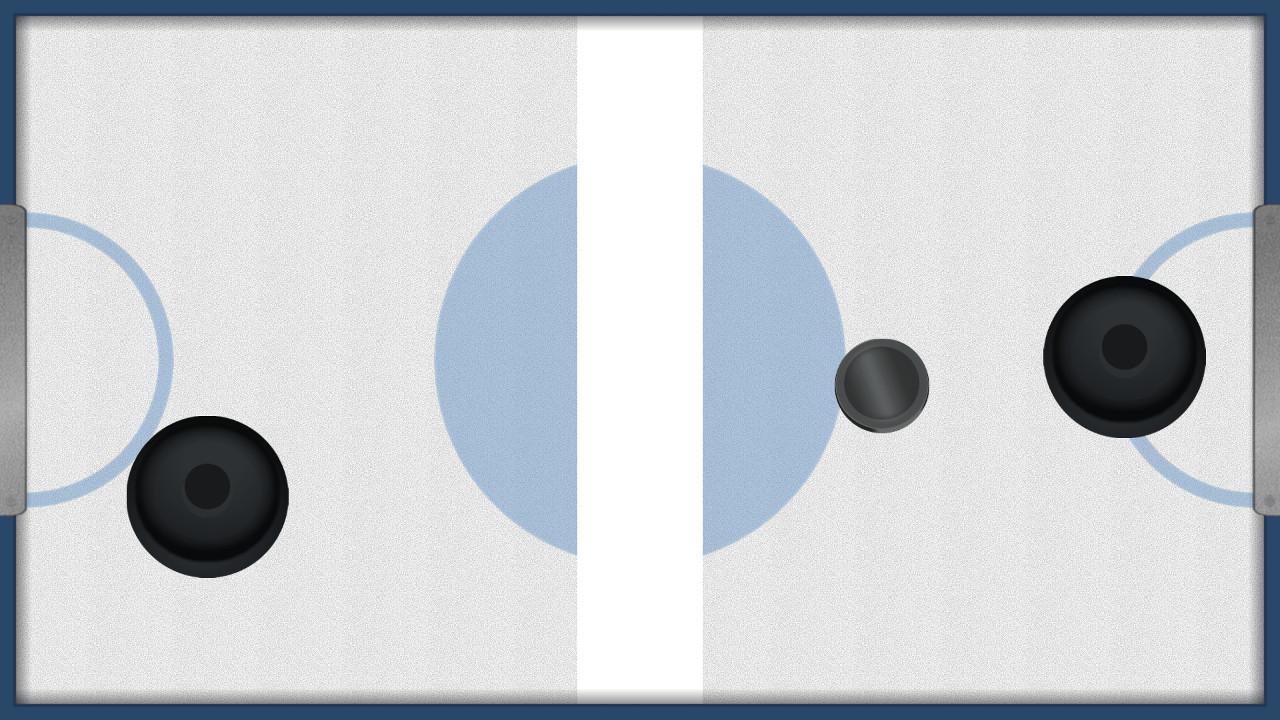 Screenshot of Frustrating Air Hockey