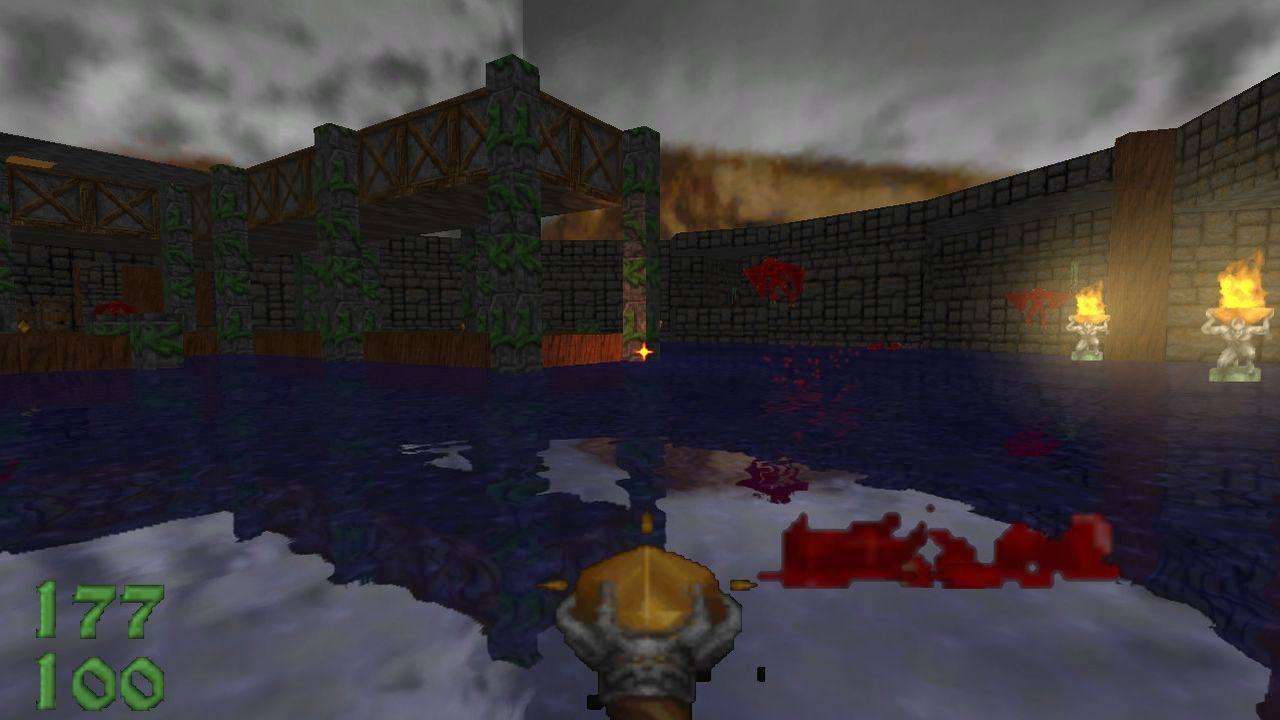 Screenshot of HereticGLES