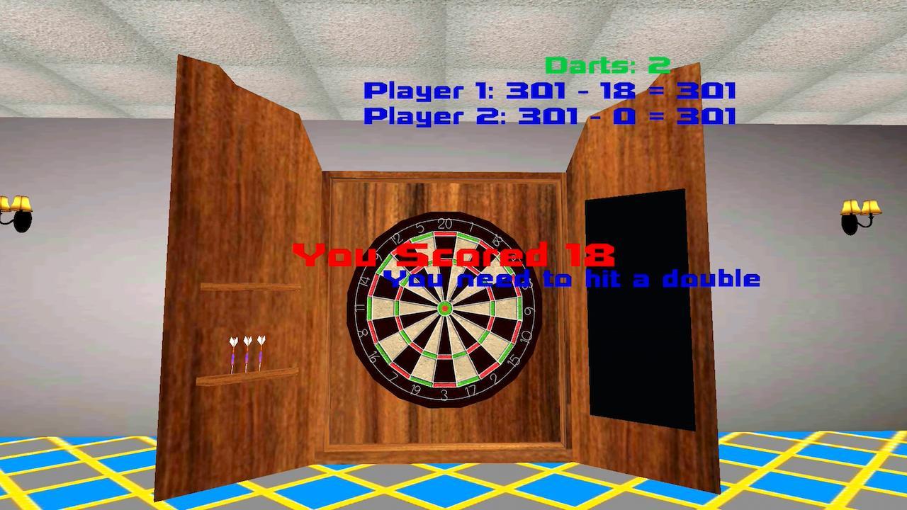 Screenshot of Doorless Darts