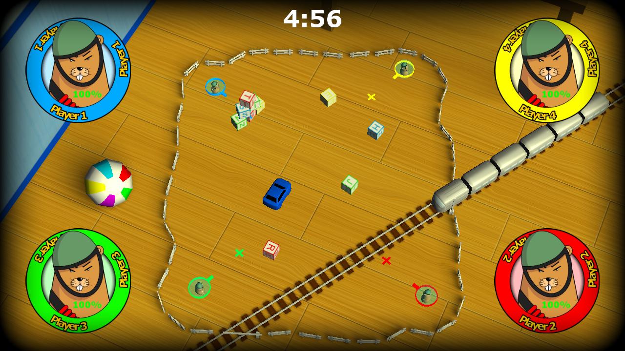Screenshot of HamsterWars : The ball wars