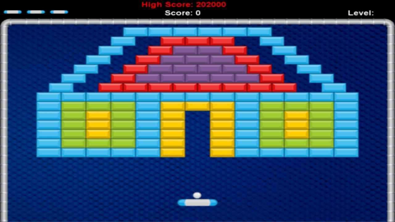 Screenshot of Brick Breaker Premium