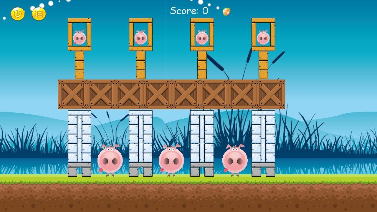 Screenshot of Cheeky Chickens