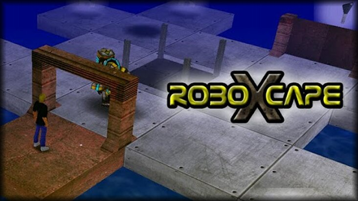 Screenshot of ../game/com.marcogiorgini.ouya.roboXcape.htm