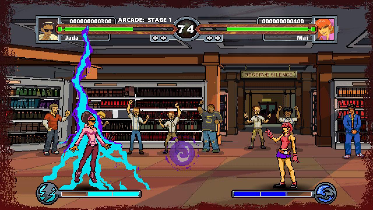 Screenshot of Battle High 2