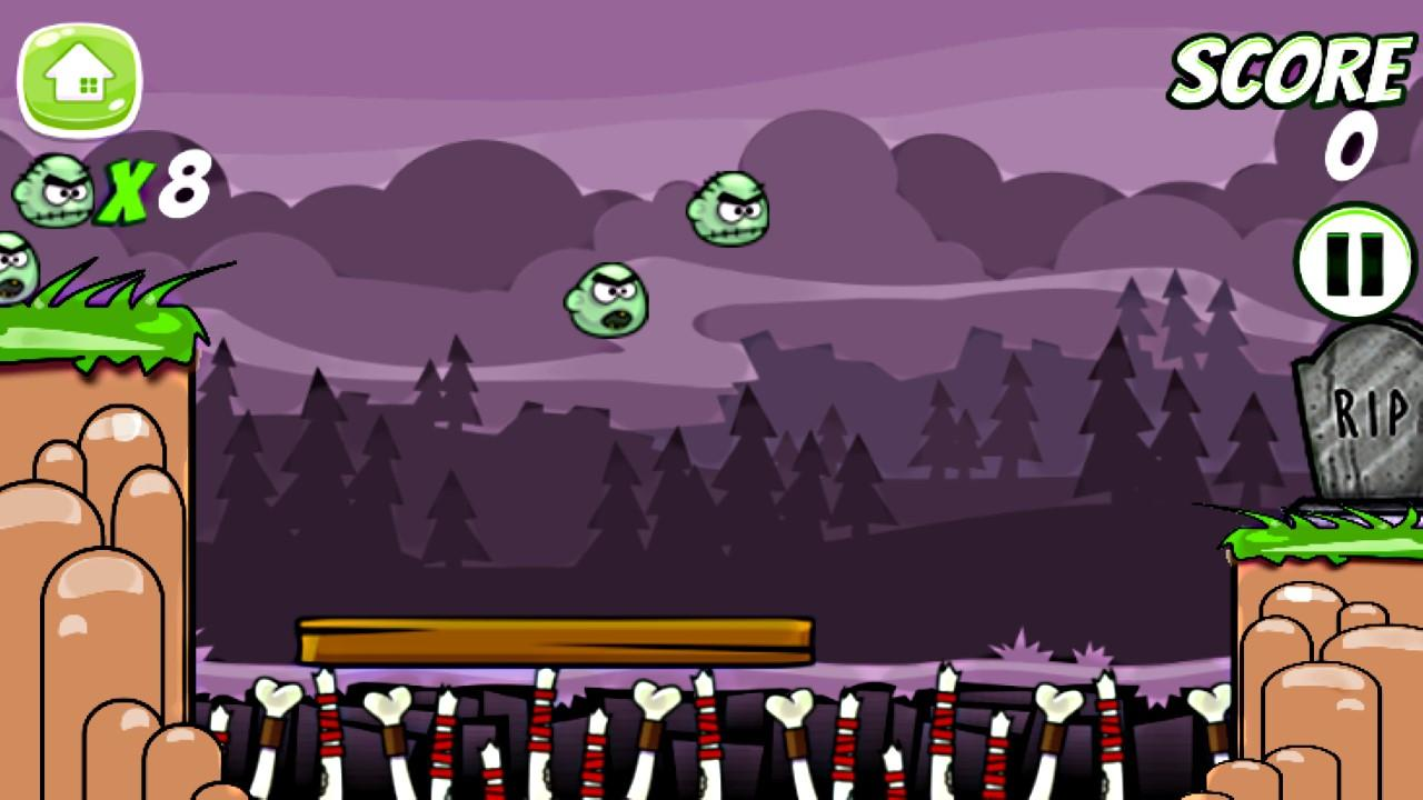 Screenshot of Save the Zombies