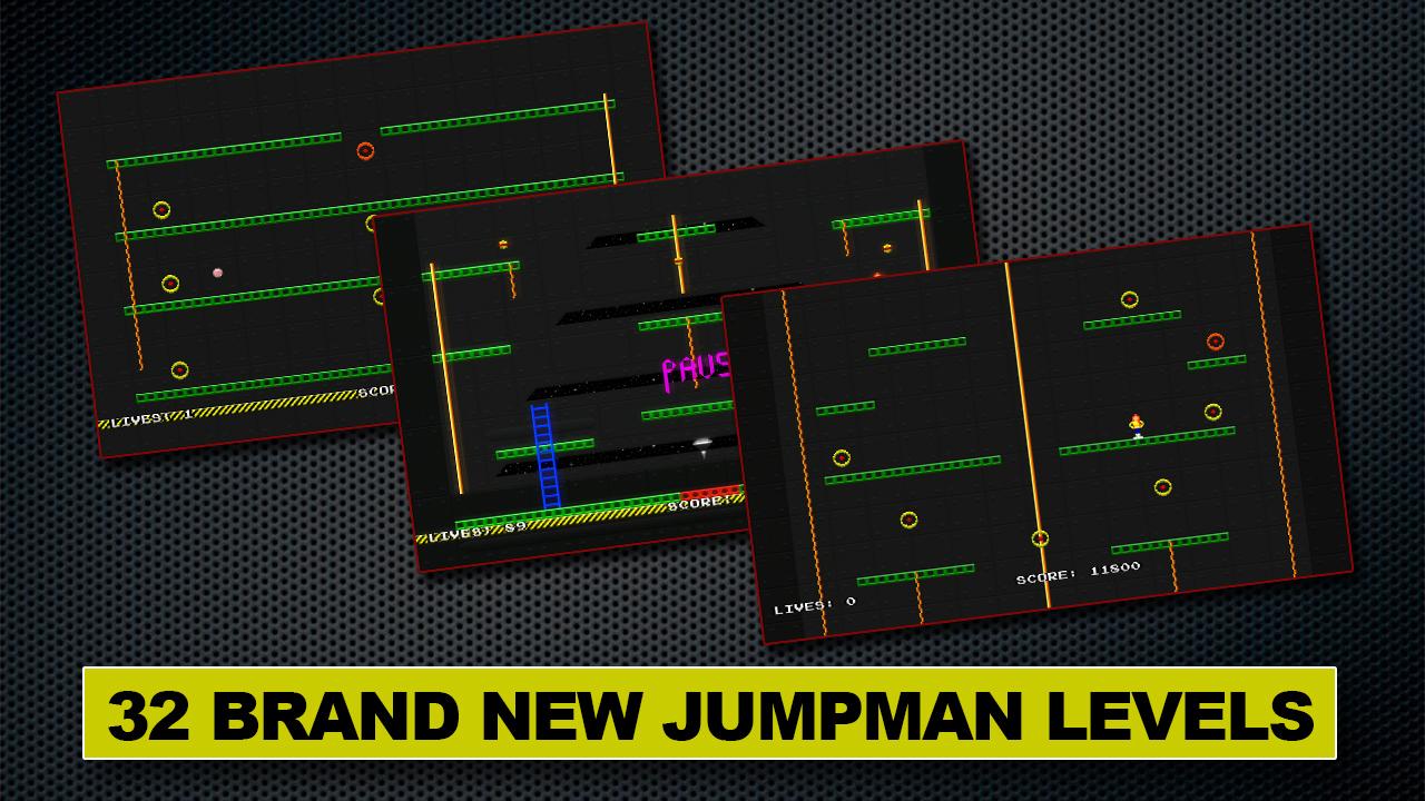 Screenshot of Jumpman Forever