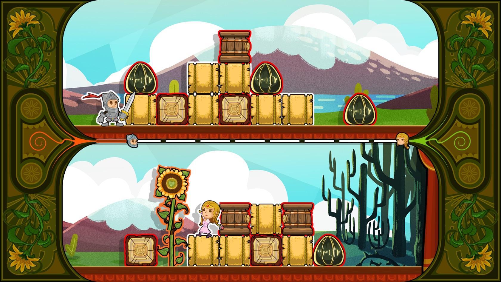 Screenshot of Knight & Damsel