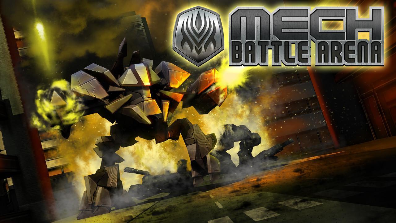 Screenshot of Mech Battle Arena